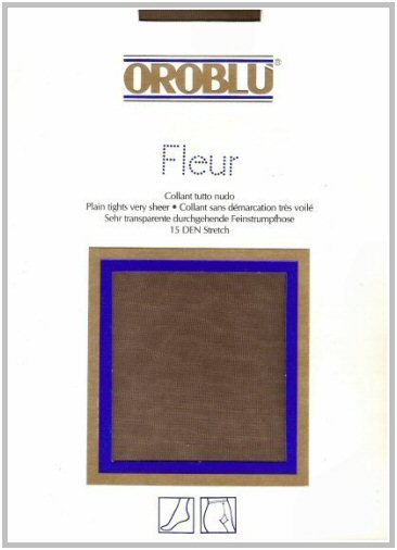 Oro Blù art. FLEUR - Collant 15 denari stretch, tutto nudo